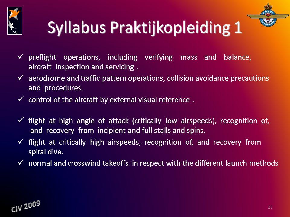 Syllabus Praktijkopleiding 1