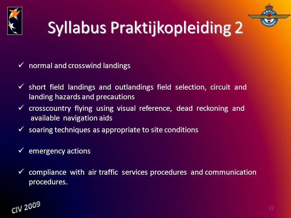 Syllabus Praktijkopleiding 2