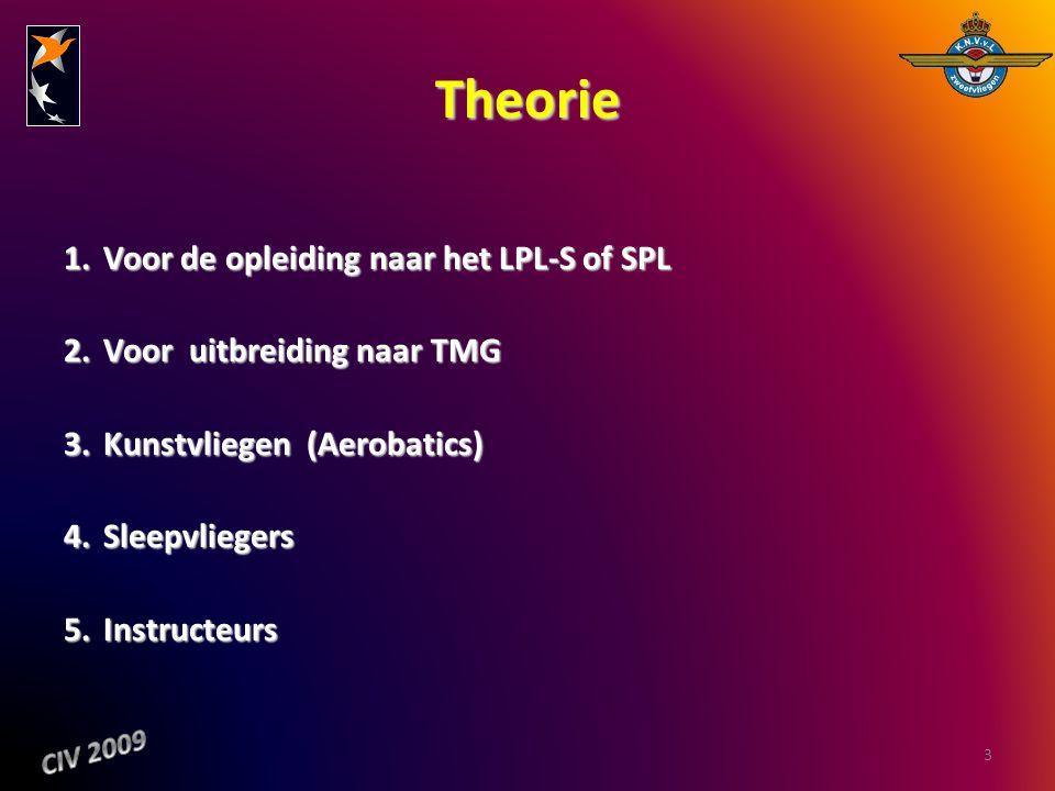 Theorie Voor de opleiding naar het LPL-S of SPL