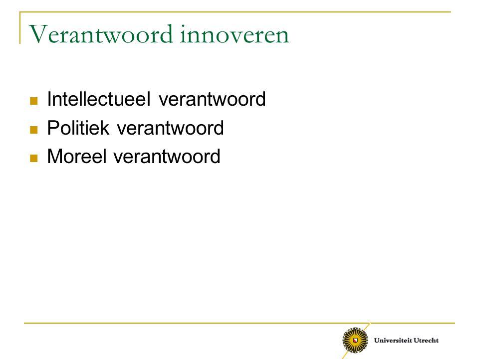 Verantwoord innoveren