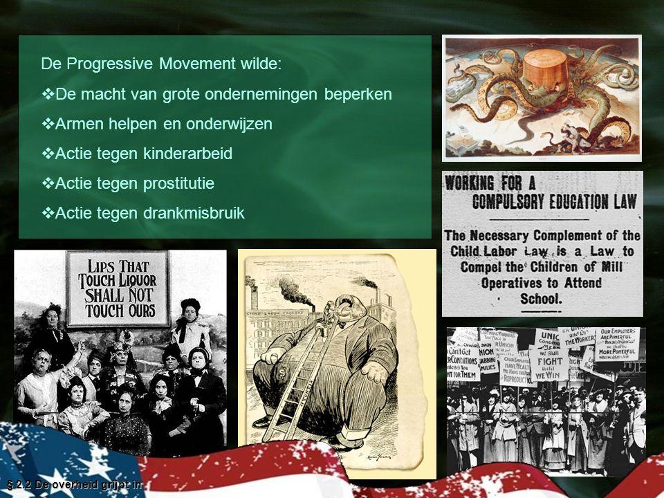 De Progressive Movement wilde: