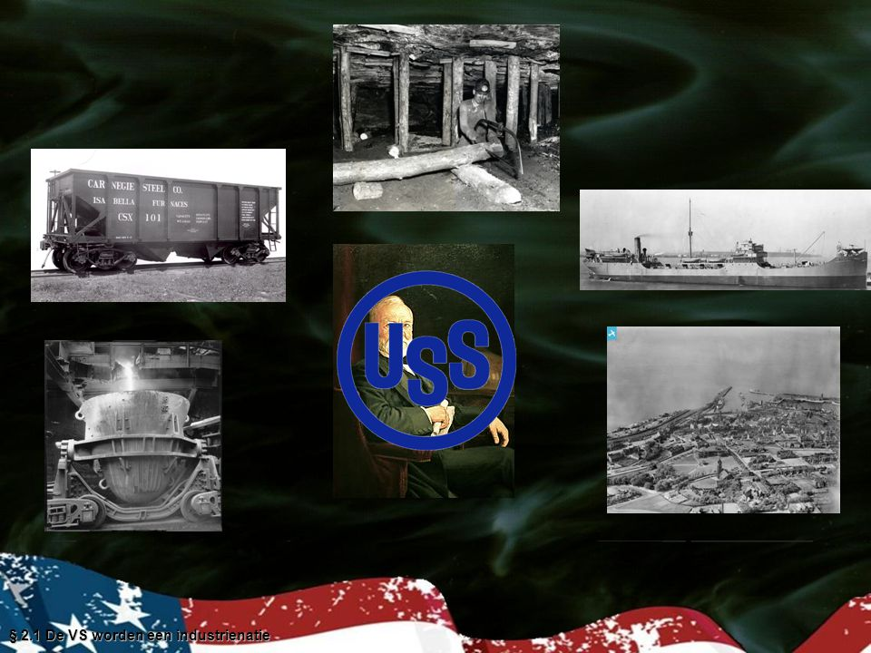 § 2.1 De VS worden een industrienatie