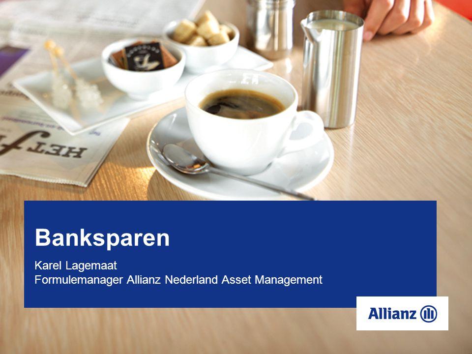 Banksparen Karel Lagemaat