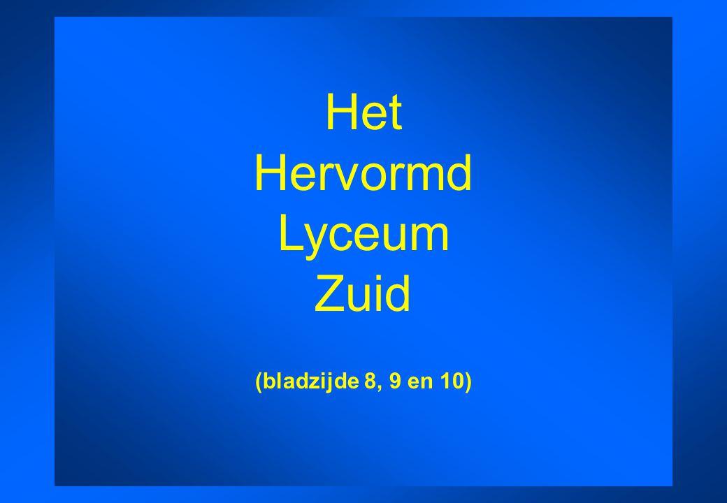 Het Hervormd Lyceum Zuid