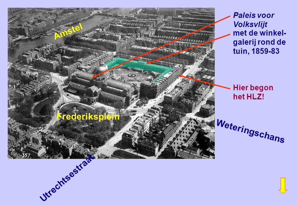 Amstel Frederiksplein Weteringschans Utrechtsestraat