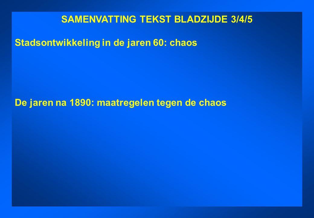 SAMENVATTING TEKST BLADZIJDE 3/4/5 SAMENVATTING TEKST BLADZIJDE 3/4/5