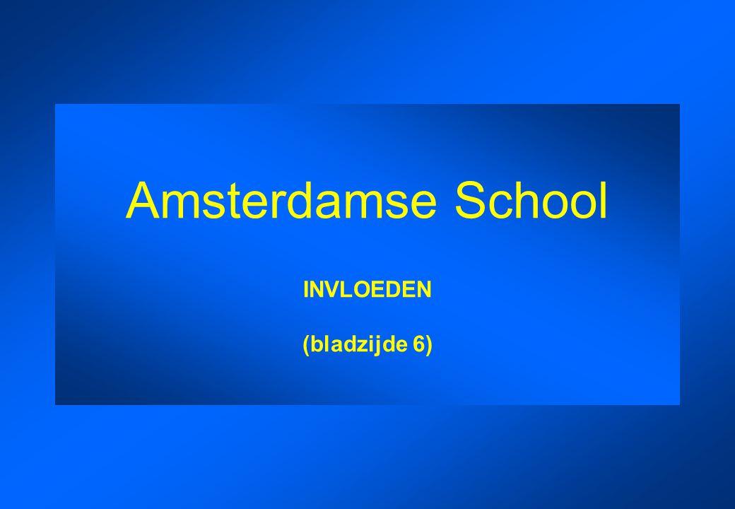 Amsterdamse School INVLOEDEN (bladzijde 6)