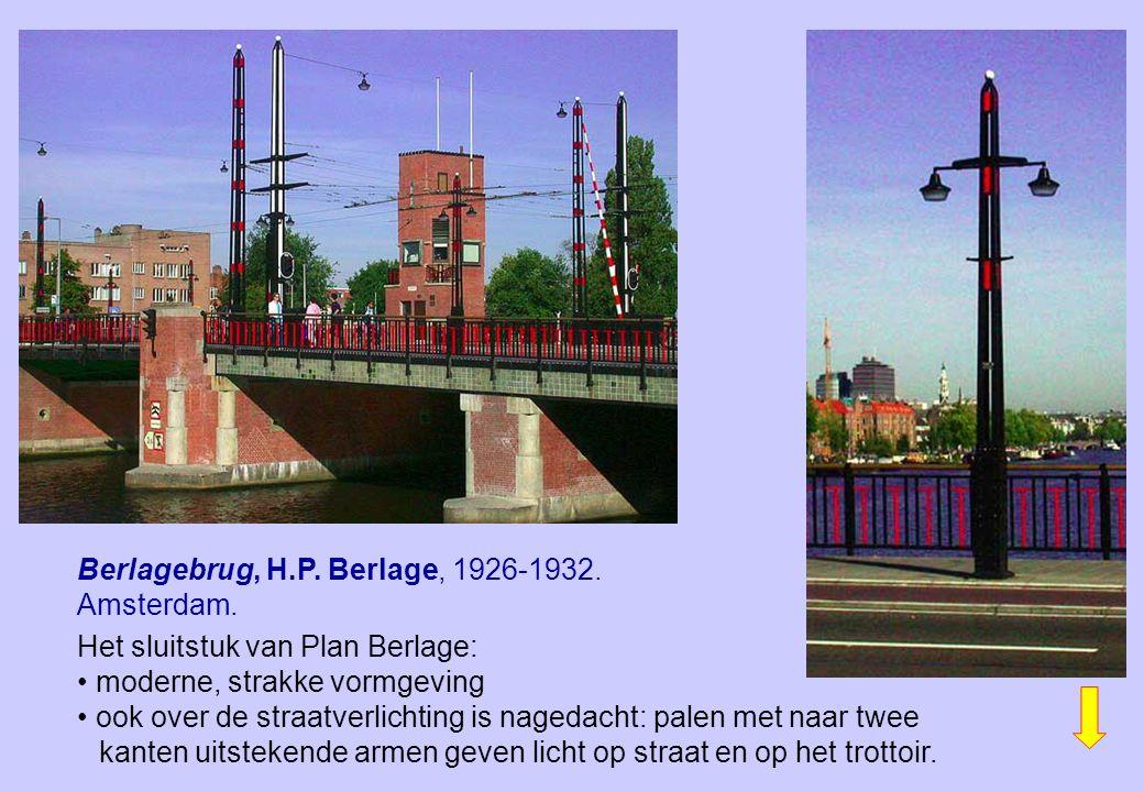 Berlagebrug, H.P. Berlage, 1926-1932. Amsterdam.