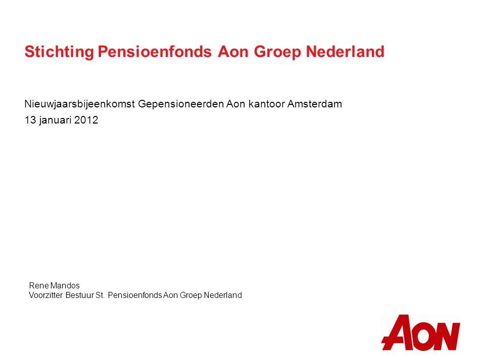 Stichting Pensioenfonds Aon Groep Nederland