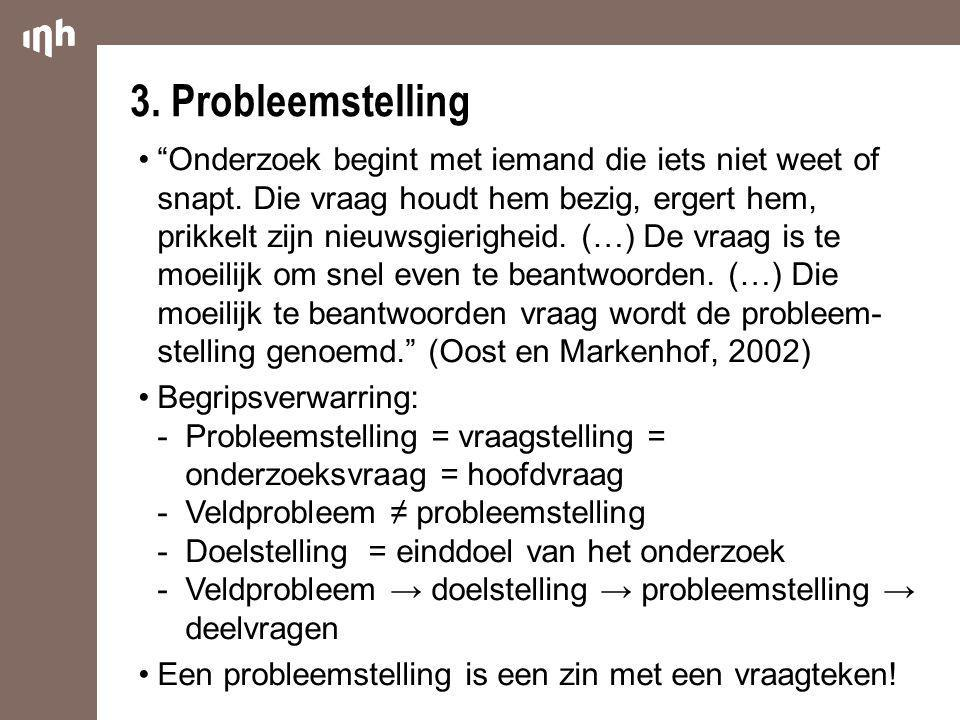 3. Probleemstelling