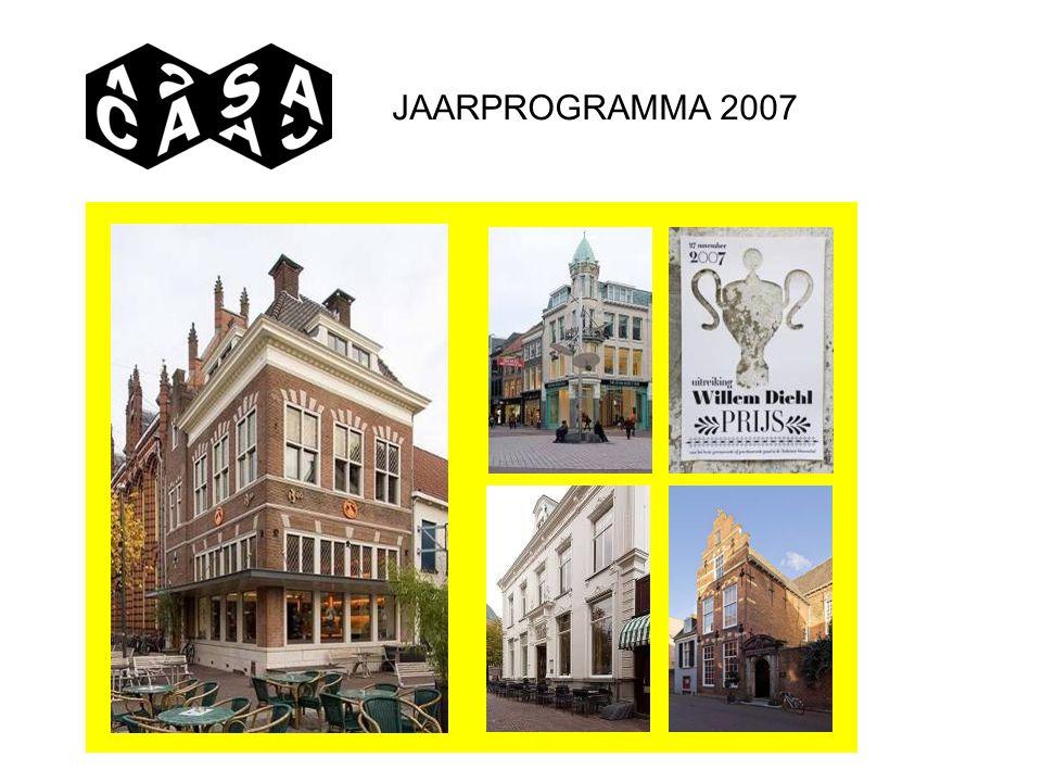JAARPROGRAMMA 2007
