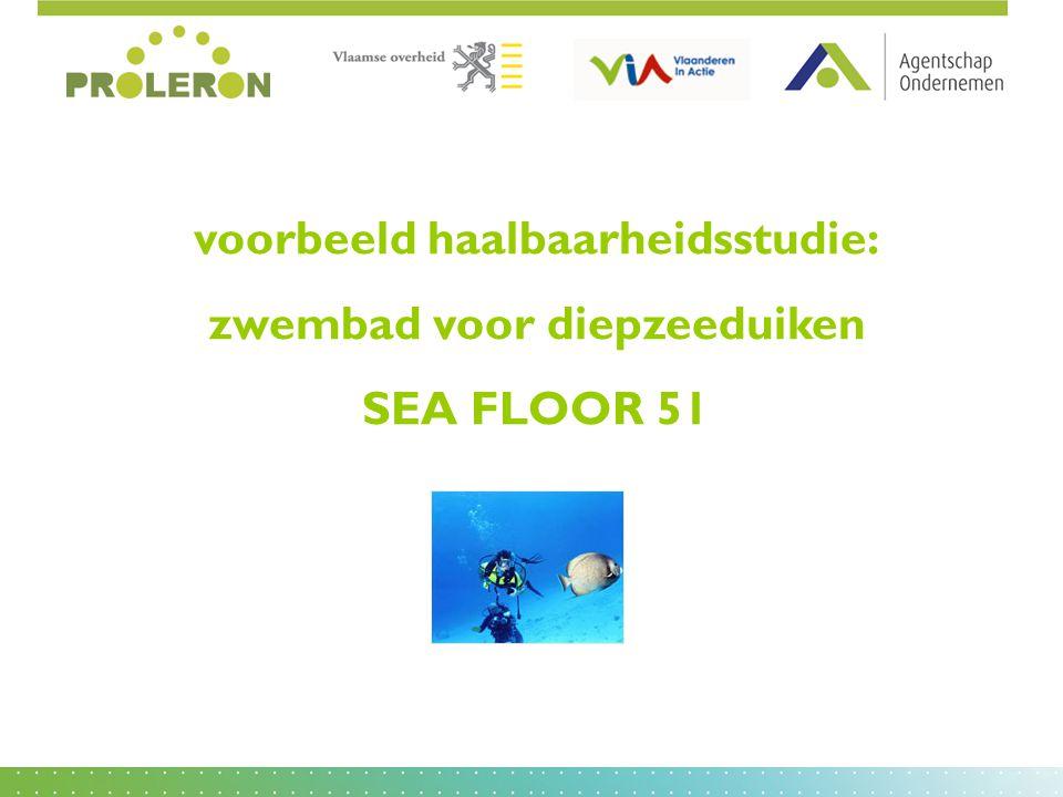 voorbeeld haalbaarheidsstudie: zwembad voor diepzeeduiken