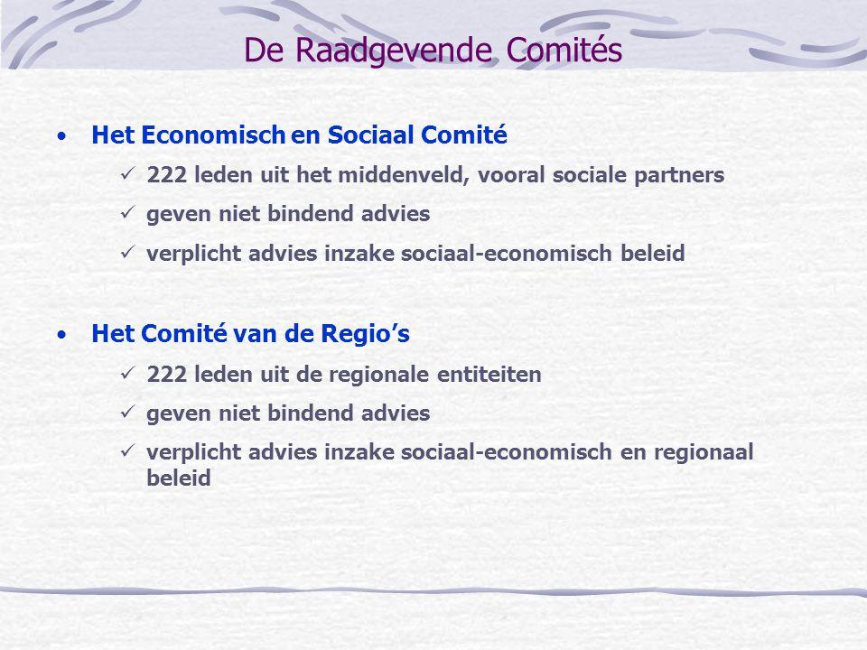 De Raadgevende Comités