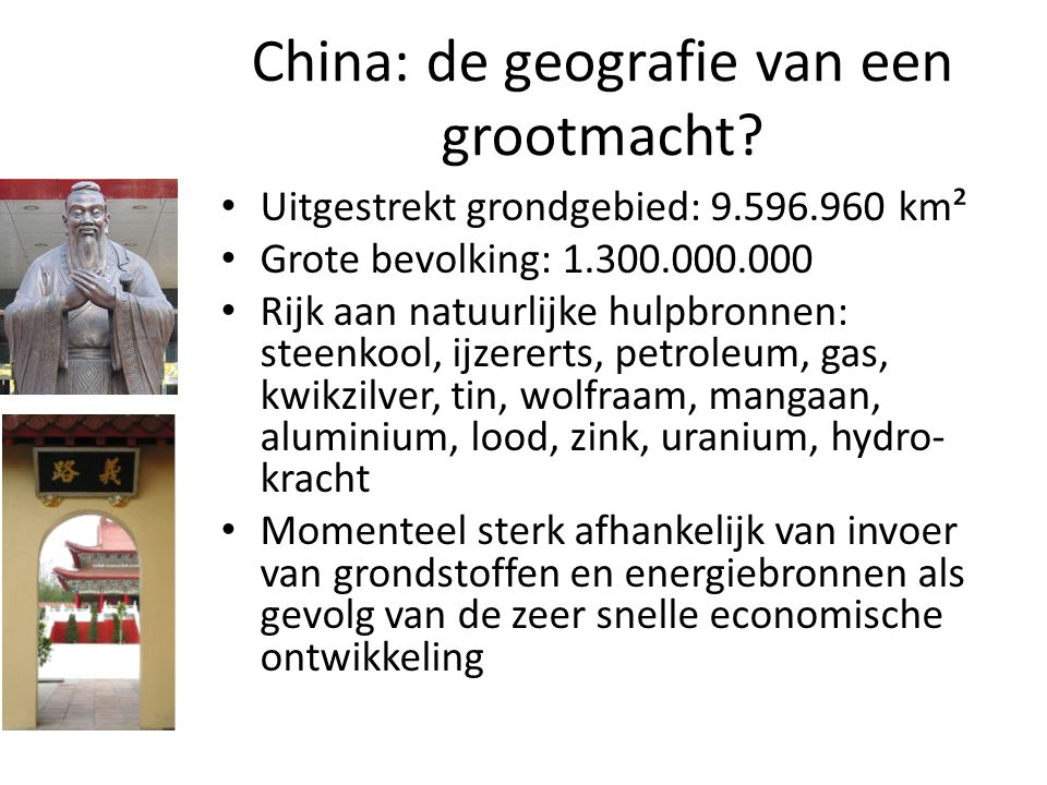 China: de geografie van een grootmacht