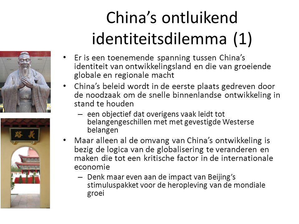 China's ontluikend identiteitsdilemma (1)