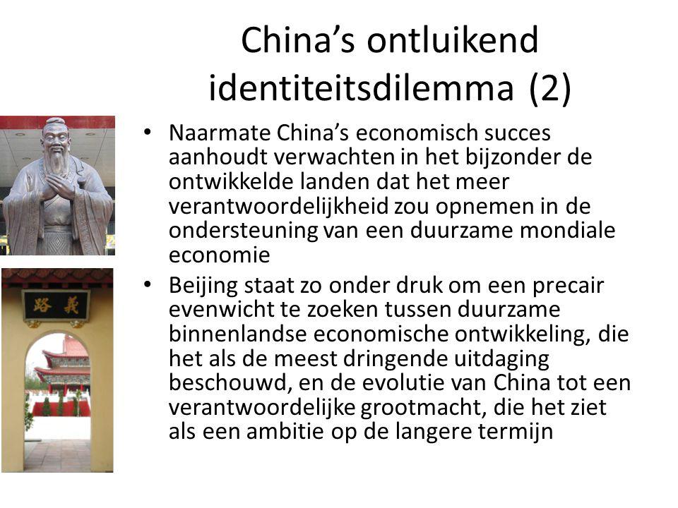 China's ontluikend identiteitsdilemma (2)