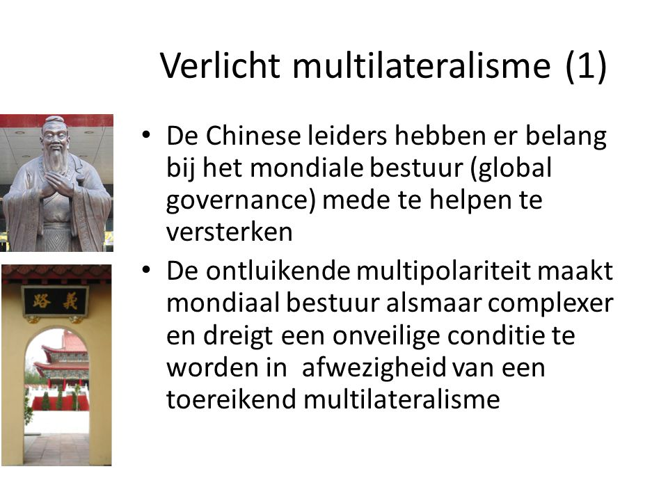 Verlicht multilateralisme (1)