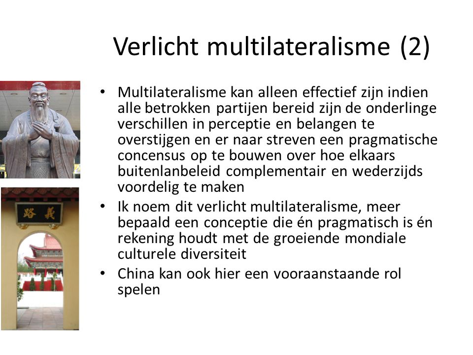 Verlicht multilateralisme (2)