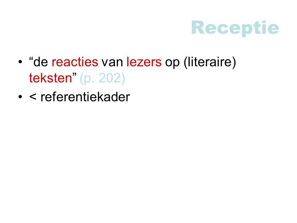 Receptie de reacties van lezers op (literaire) teksten (p. 202)