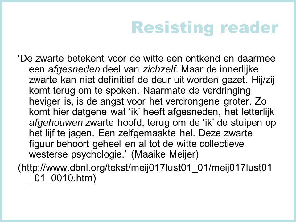 Resisting reader