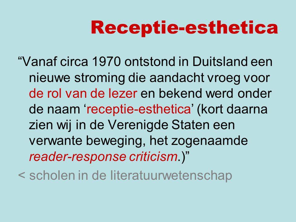 Receptie-esthetica