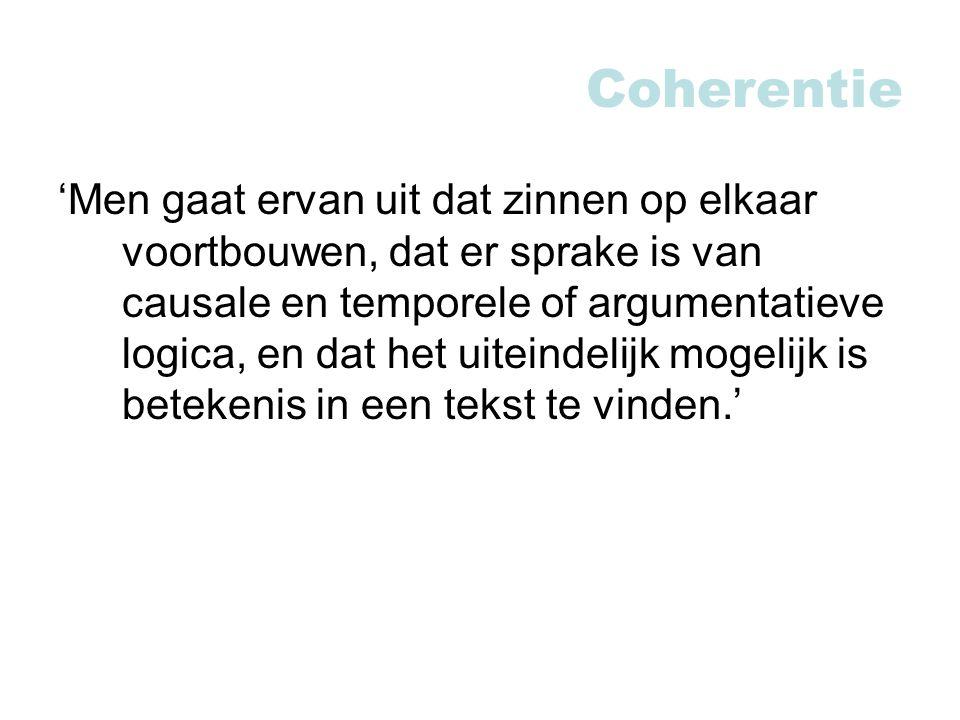 Coherentie