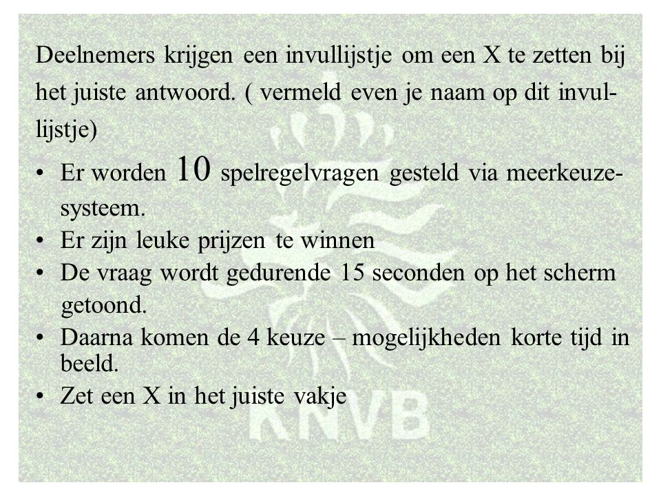 KNVB Academie // Beïnvloedingsfactoren en Weerstanden 2 // www.knvb.nl
