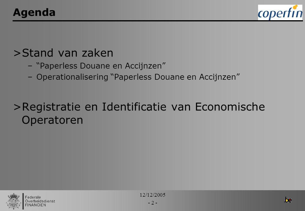 Registratie en Identificatie van Economische Operatoren