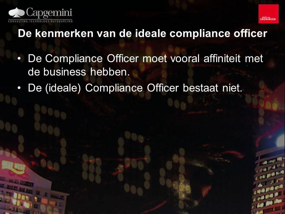 De kenmerken van de ideale compliance officer