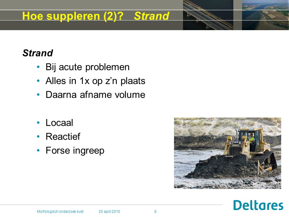 Hoe suppleren (2) Strand