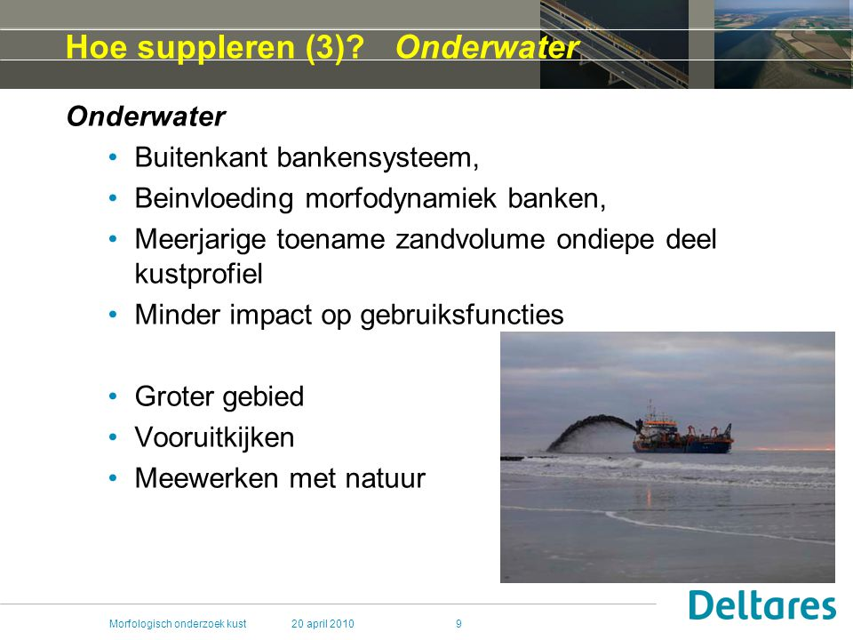 Hoe suppleren (3) Onderwater