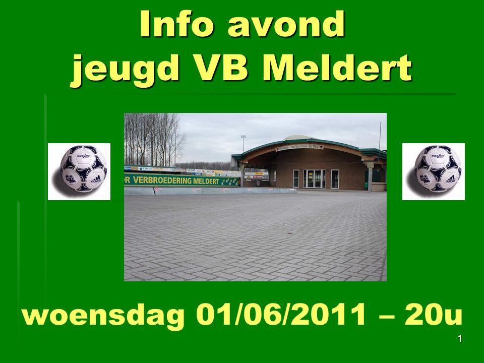 Info avond jeugd VB Meldert
