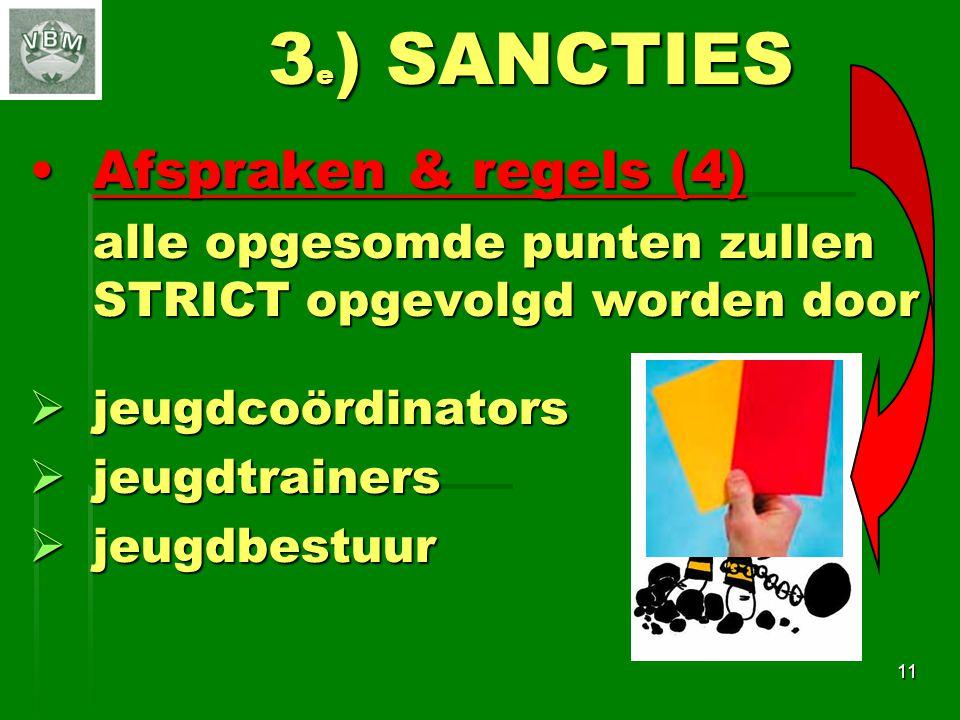 3e) SANCTIES Afspraken & regels (4)