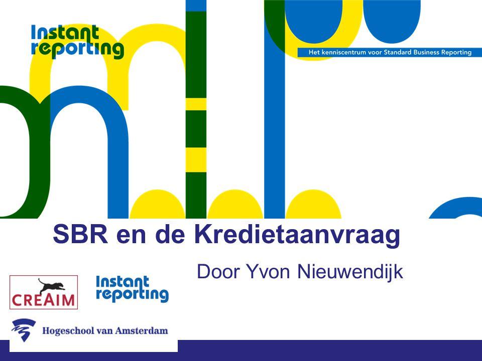 SBR en de Kredietaanvraag