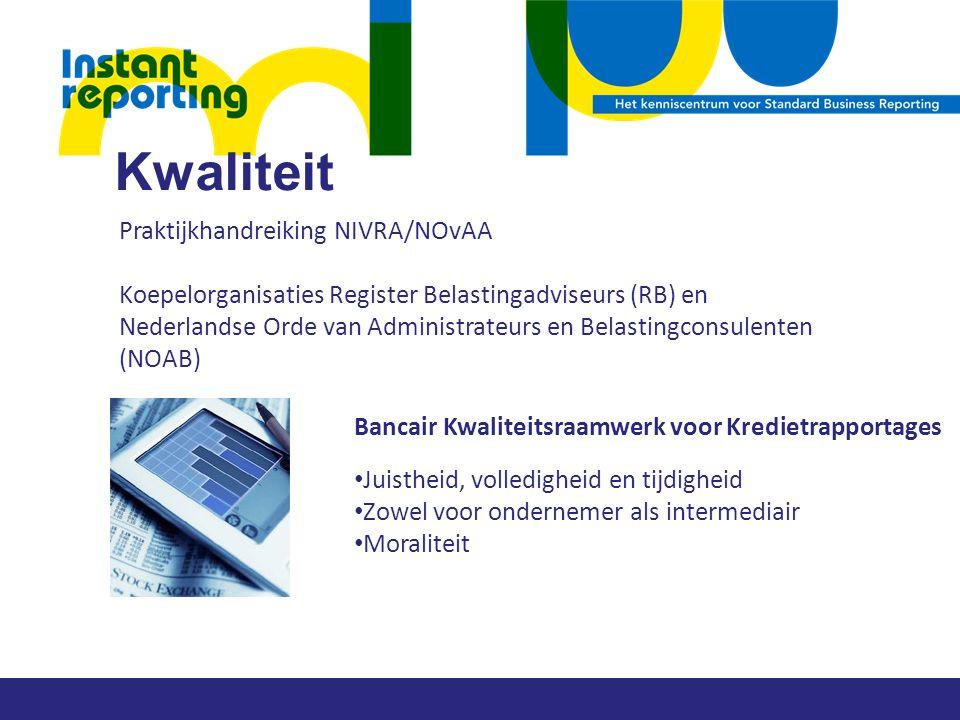 Kwaliteit Praktijkhandreiking NIVRA/NOvAA