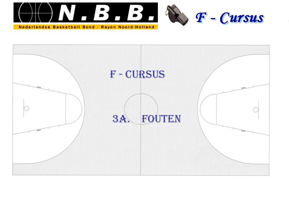 F - Cursus 3a. fouten