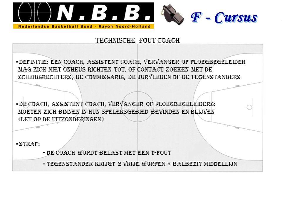 technische fout coach definitie: een coach, assistent coach, vervanger of ploegbegeleider.