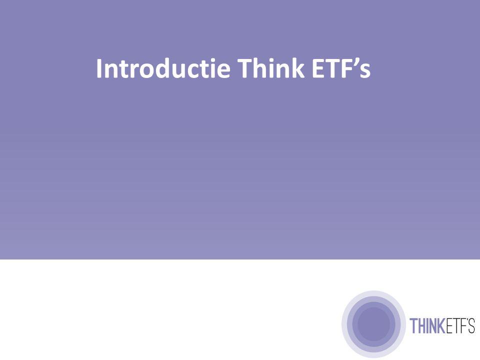 Geschiedenis van Think ETF's