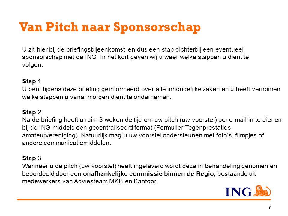 Van Pitch naar Sponsorschap