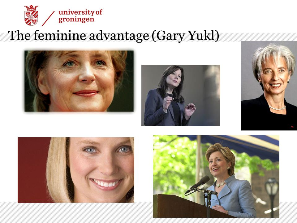 The feminine advantage (Gary Yukl)
