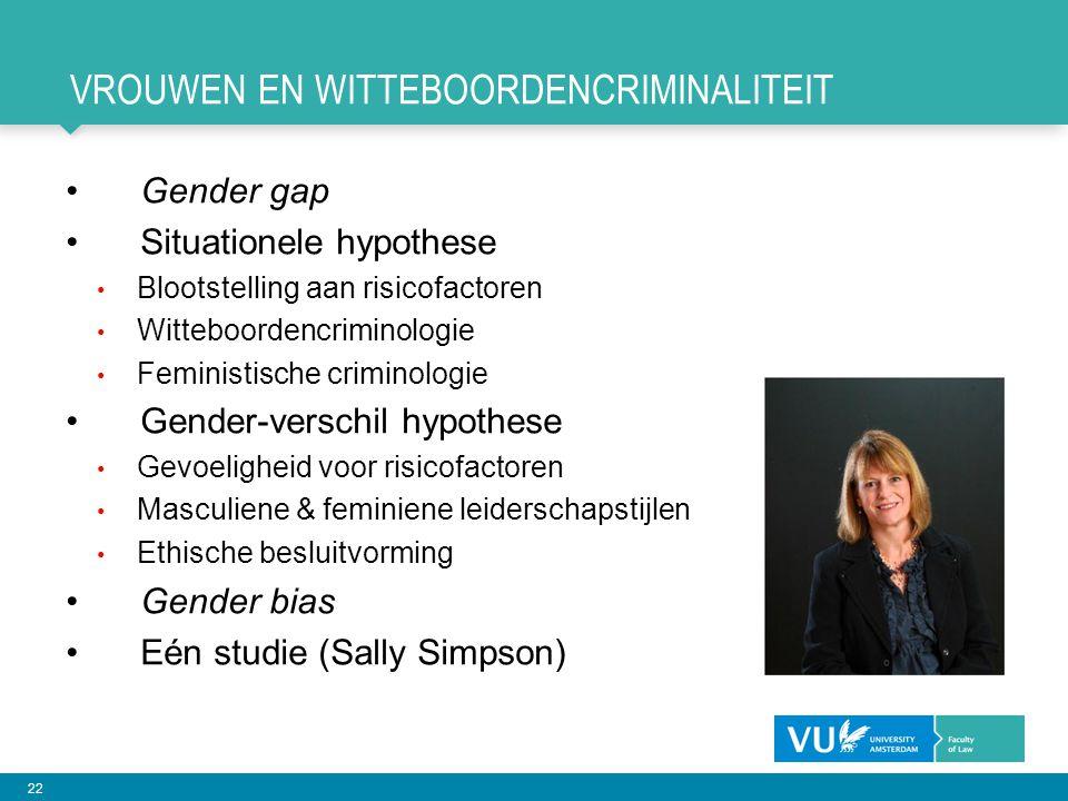Vrouwen en witteboordencriminaliteit