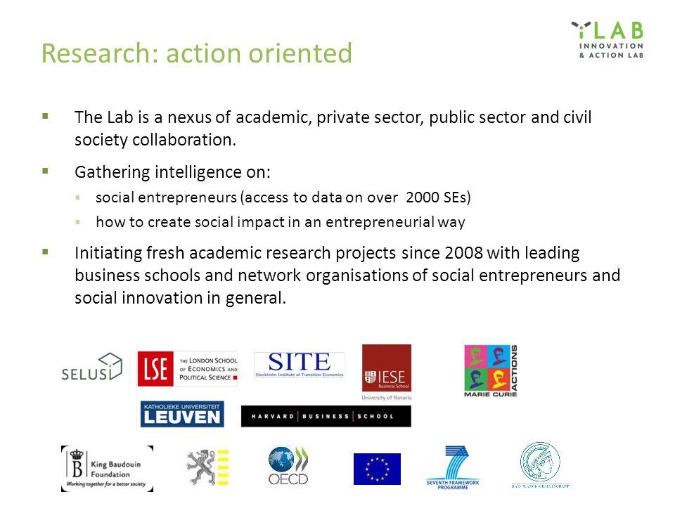 Research: action oriented