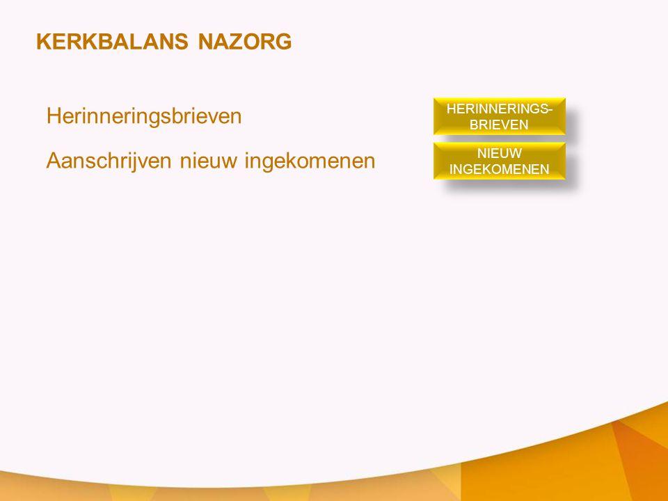HERINNERINGS-BRIEVEN