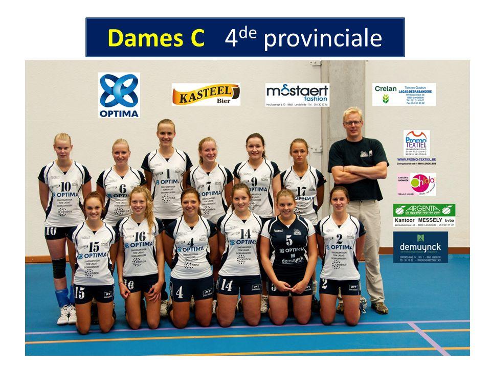 Dames C 4de provinciale