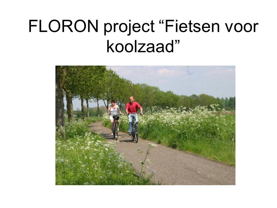 FLORON project Fietsen voor koolzaad