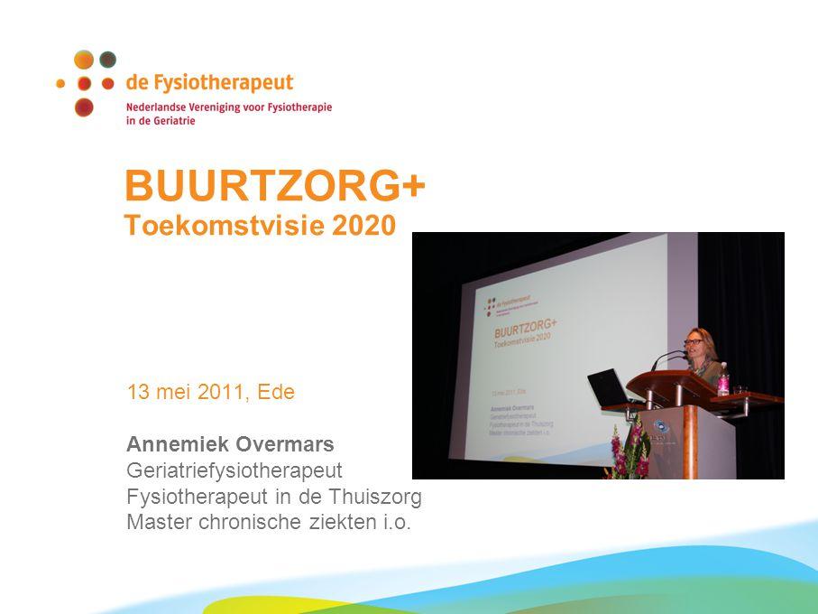 BUURTZORG+ Toekomstvisie 2020