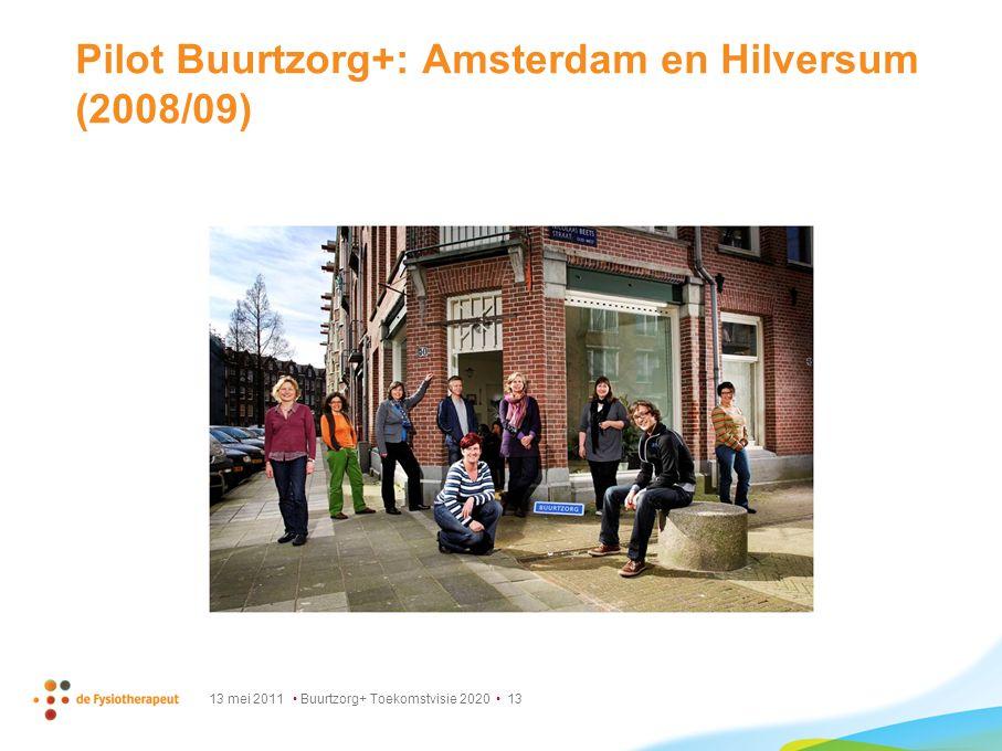 Pilot Buurtzorg+: Amsterdam en Hilversum (2008/09)
