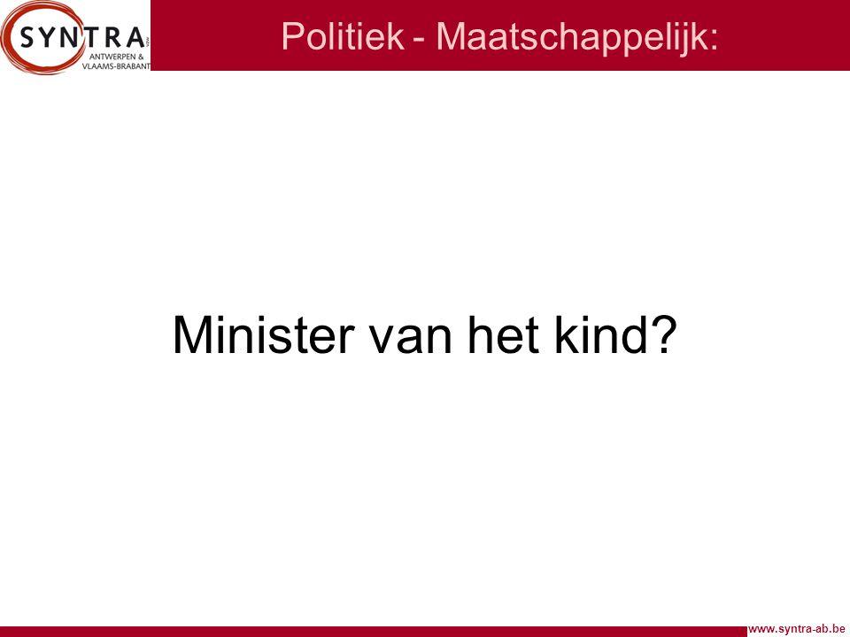 Politiek - Maatschappelijk: