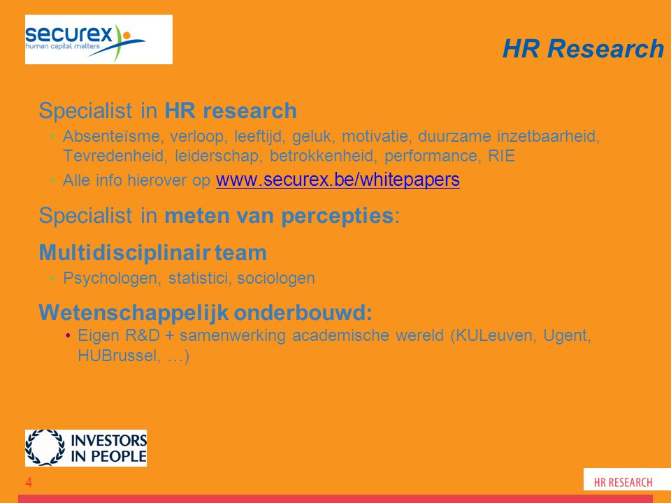 HR Research Specialist in HR research