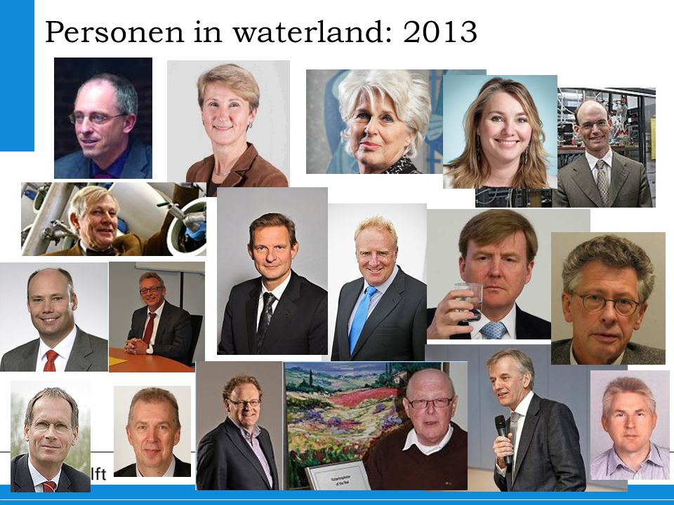 Personen in waterland: 2013